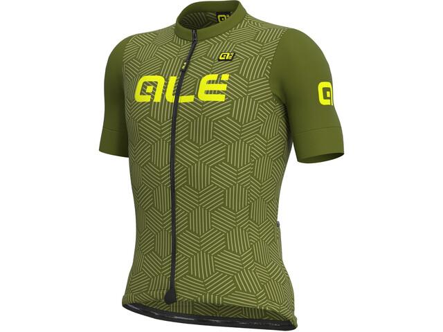 Alé Cycling Solid Cross SS Jersey Men, green